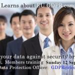 GDPR CLCCL members training